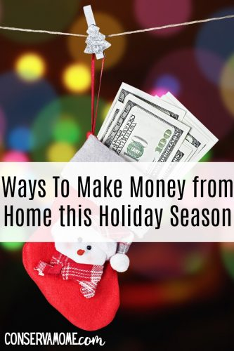 Ways to make money from home this holiday season