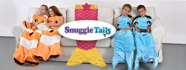 Cozy fun with snuggie tails review giveaway conservamom for Snuggie tails clown fish