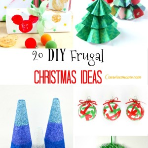 20 DIY Frugal Christmas Ideas