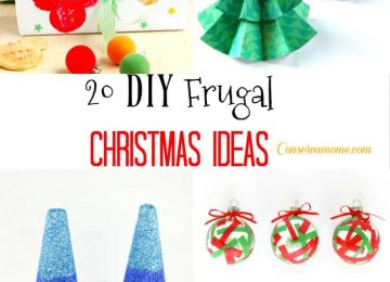 20 DIY Frugal Christmas Ideas to save you money