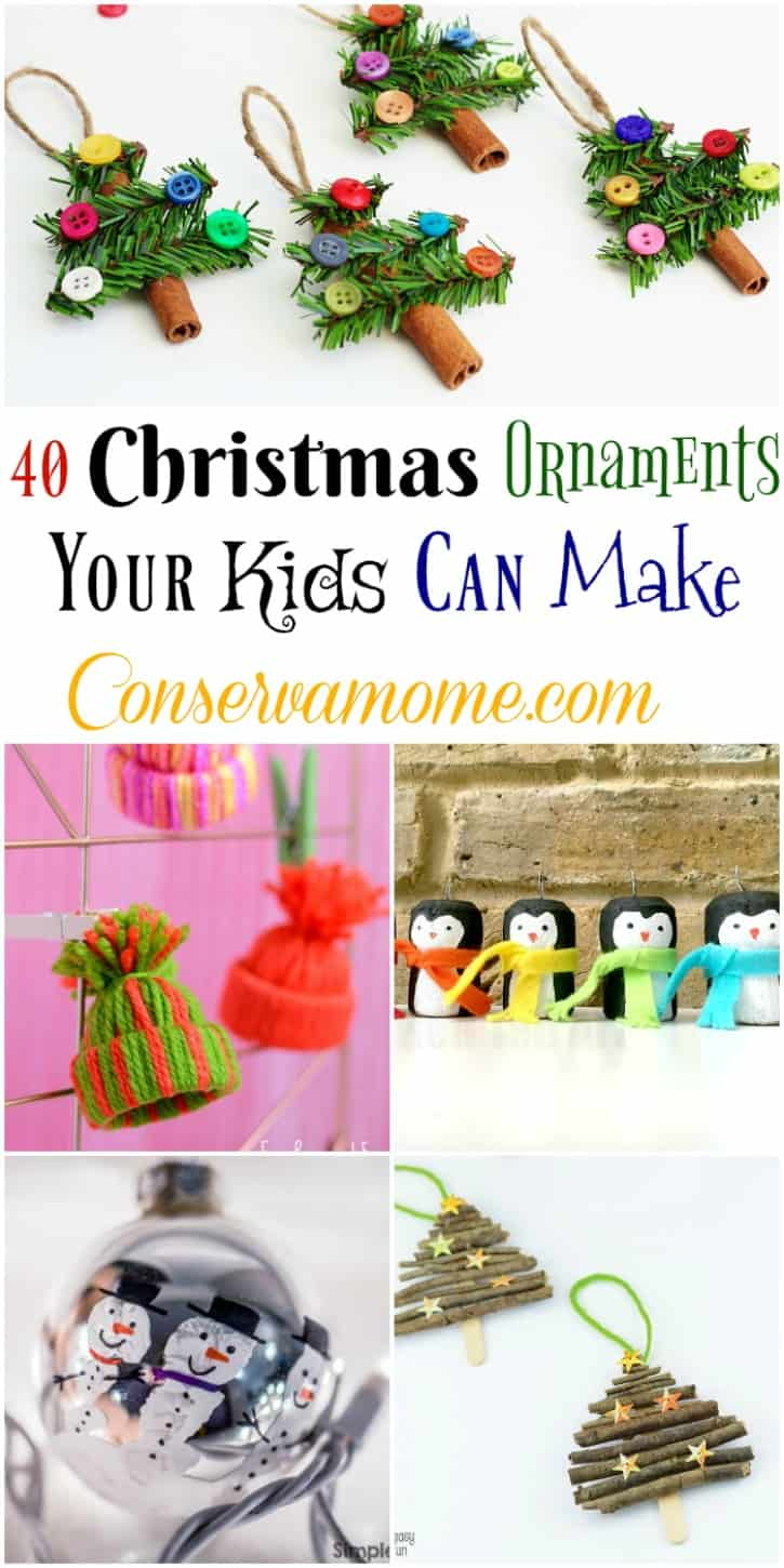 Christmas Ornaments Your Kids Can Make