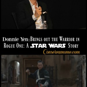 Donnie Yen:Brings out the  Warrior in Rogue One:A Star Wars Story