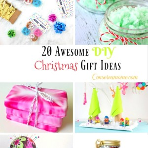 20 Awesome DIY Christmas Gift Ideas