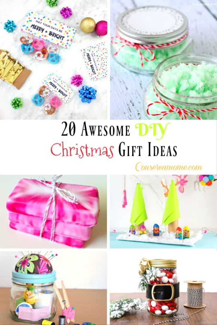 Are you looking for some awesome DIY Christmas gift ideas? Look no further!Check out a list of some great gifts ready to make everyone's Christmas Merry and Bright!