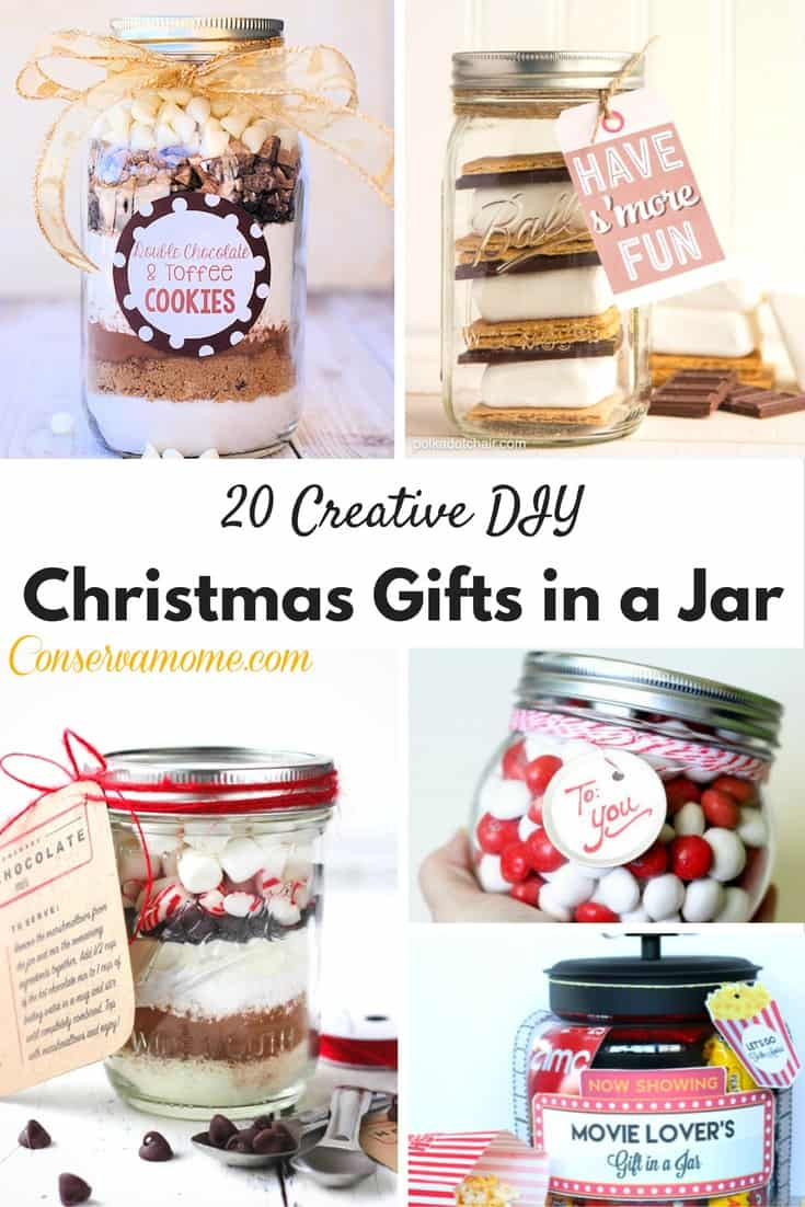 Looking for some delicious and Creative DIY Christmas Gifts in a Jar? Look no further than this delicious compilation of fun!