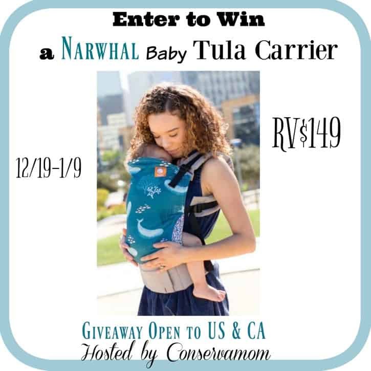 Win a Narwhal Tula baby carrier!