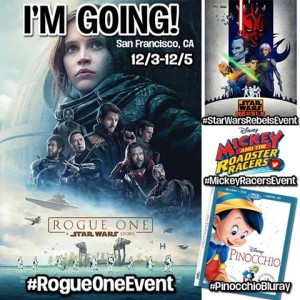 And I'm off on a Star Wars  #RogueOneEvent Adventure To San Francisco!