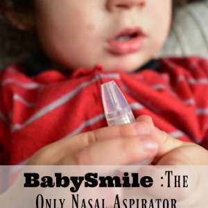 BabySmile – The Only Baby Nasal Aspirator You'll Ever Need Review + Giveaway RV$115