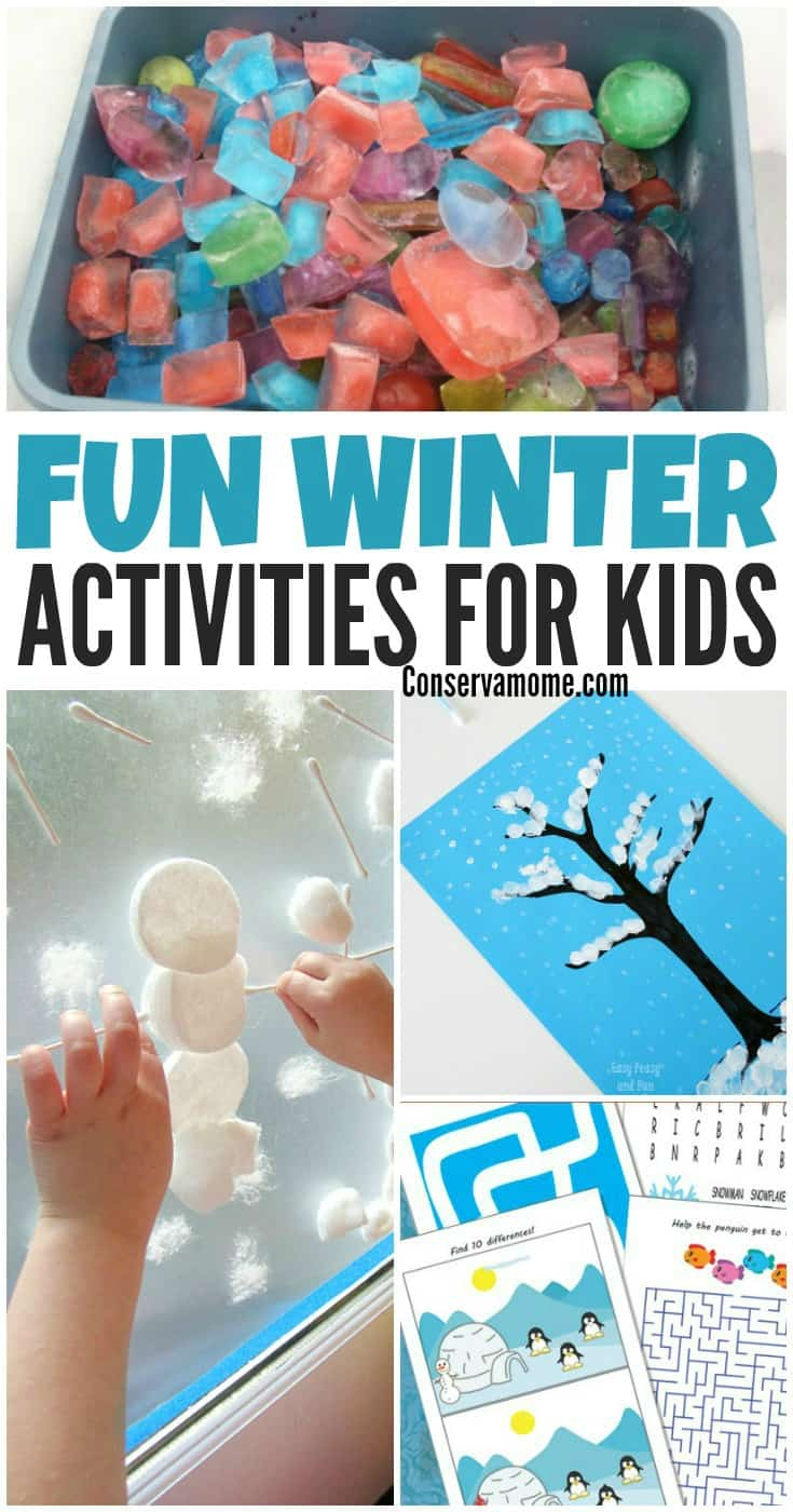 Figuring out 25 Fun Winter Activities for Kids can be tough. Here are some great ideas to make the long winter days go by quickly in a fun way!
