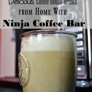 Delicious Coffee House Drinks  from Home With Ninja Coffee Bar