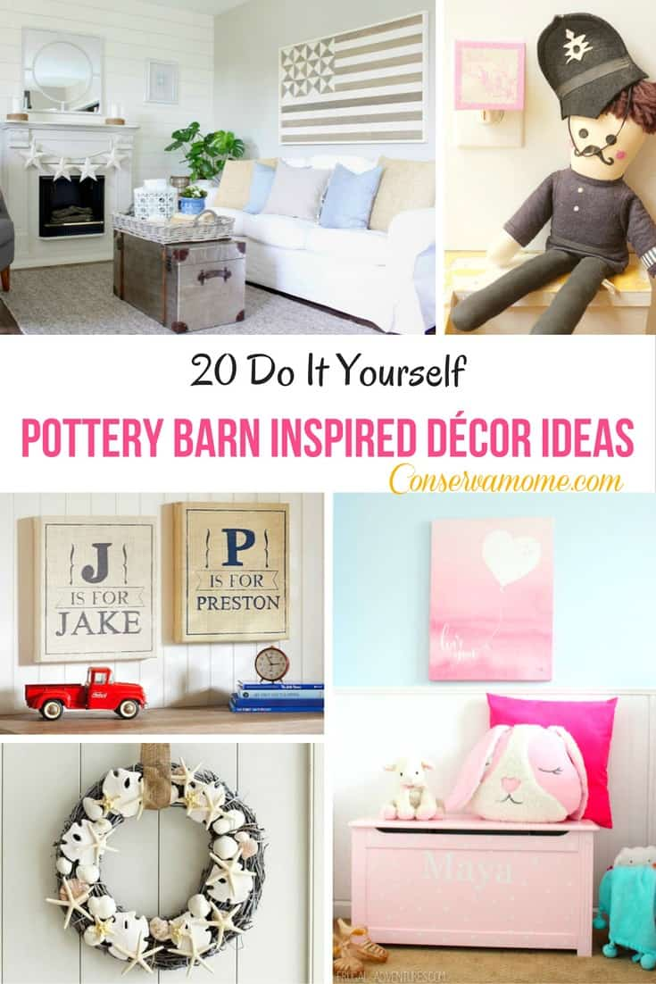 20 Do It Yourself Pottery Barn Inspired Decor Ideas