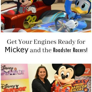 Get Your Engines Ready for Mickey and the Roadster Racers!