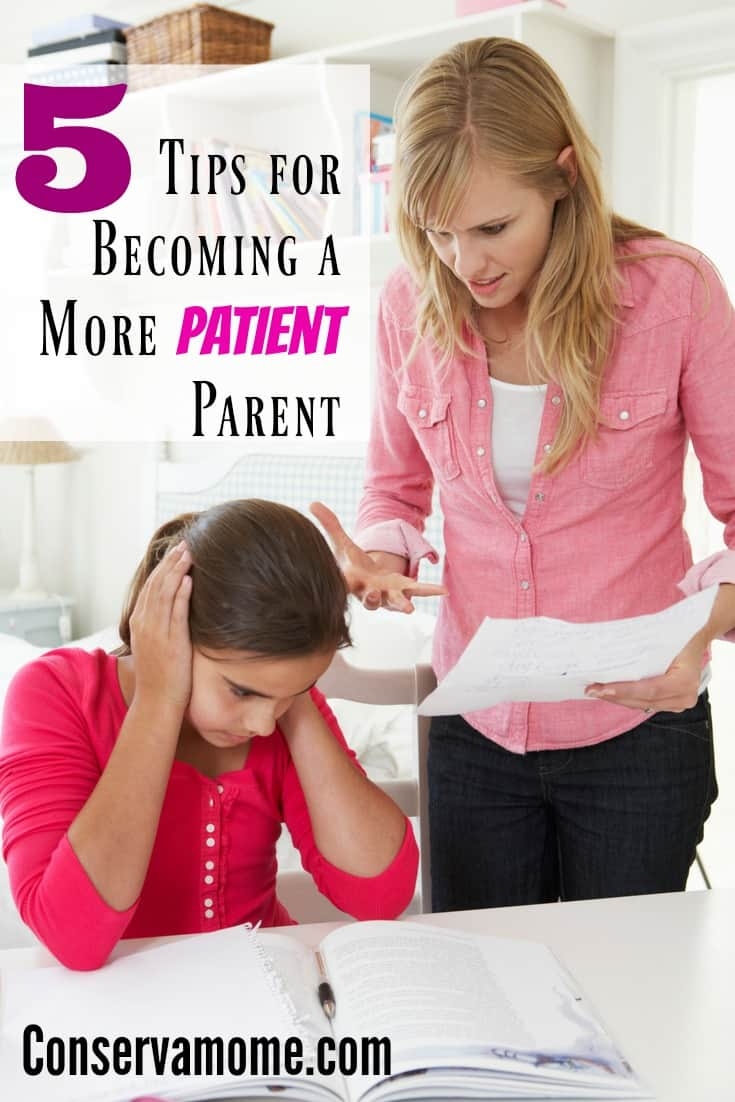 Parenting is the hardest job you'll ever have. Sometimes patience is the hardest thing to have Here are 5 Tips for Becoming a More Patient Parent