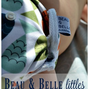 Beau & Belle Littles Swim Diaper Review + Giveaway