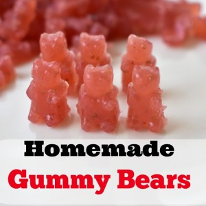 Homemade Gummy Bears Recipe