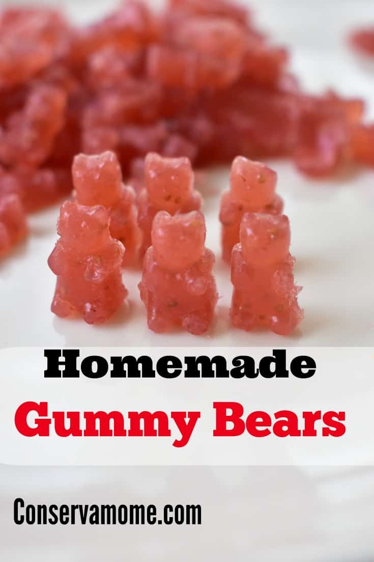 homemade gummy bears