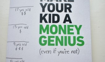 Help Build Your Kids Financial Knowledge with this Fun New Book!