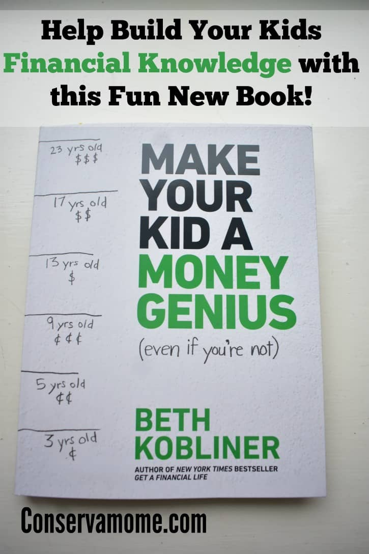 Check out this fun, straight forward book to help Build your kids financial Knowledge called Make Your Kid a Money Genius (Even If You're Not).