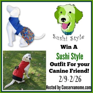 Sushi Style for your Canine Friend + Giveaway