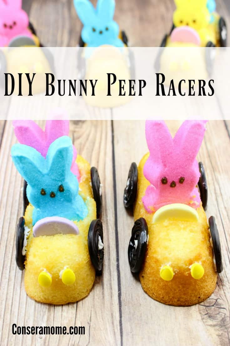 These fun little DIY Bunny Peep racers are a delicious and fun treat for any party or Easter event. This is the perfect and fun Easter Dessert .