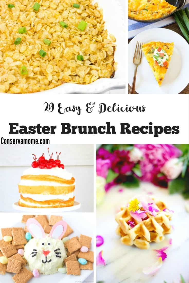 20 Easy Delicious Easter Brunch Recipes Conservamom