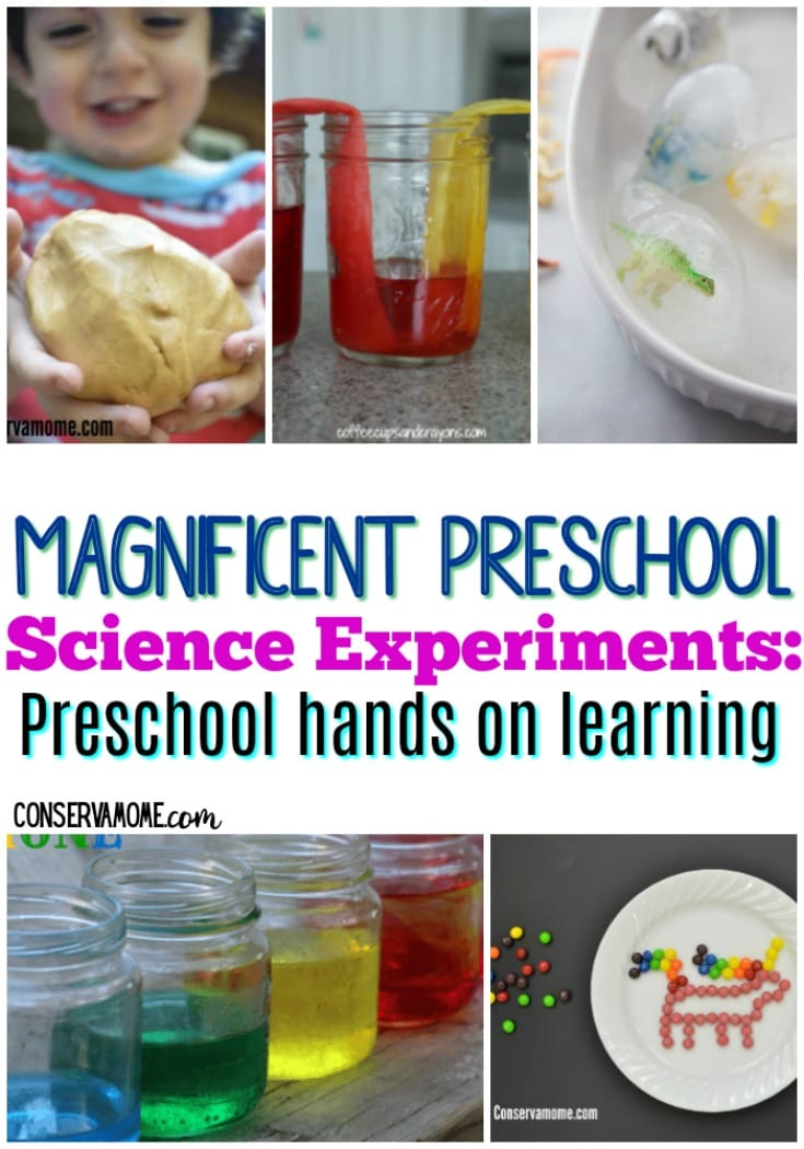 Magnificent Preschool Science Experiments: Preschool Hands on learning
