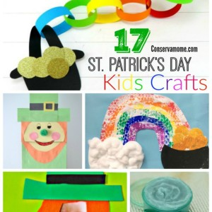 17 St. Patrick's Day Kids Crafts