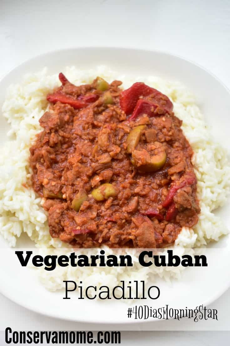 Vegetarian Cuban Picadillo Featuring MorningStar Farms - ConservaMom