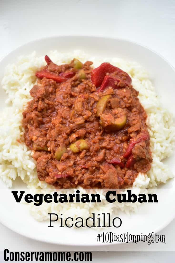 Vegetarian Cuban Picadillo