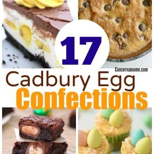 17 Cadbury Egg Confections