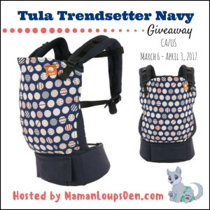 Tula Trendsetter Baby Carrier Giveaway ends 4/3
