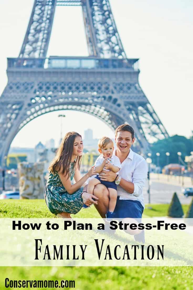 stress free family vacation