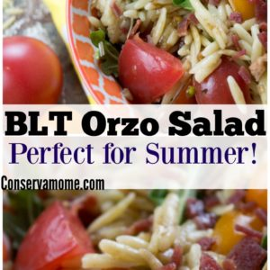 Easy & Delicious BLT Orzo Salad – Perfect for Summer!