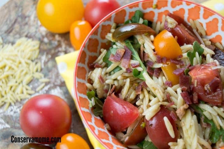 BLT Orzo Salad
