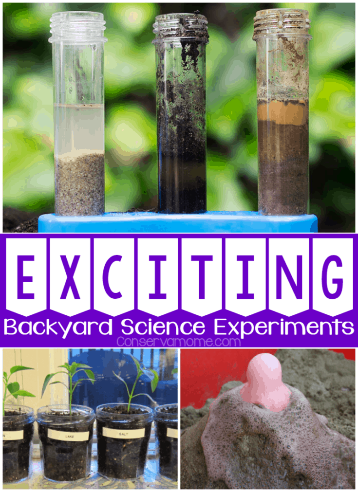 Science comes alive with these fun and exciting backyards Science Experiments that will bring the classroom outdoors.