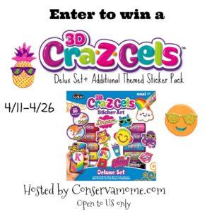 Cra-Z-Art Cra-Z-Gelz – Create,Stick & Restick Giveaway