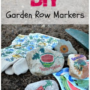 DIY Garden Row Markers