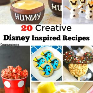 20 Creative Disney Inspired Recipes