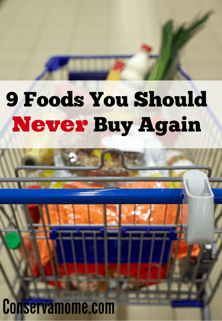 Foods You Should Never Buy Again