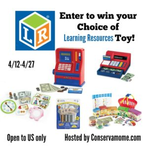 Financial Literacy Learning Fun with Learning Resources Giveaway