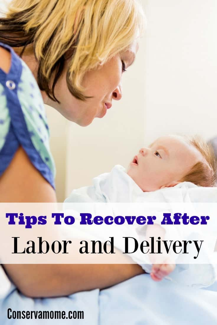 Tips to Help you Recover from Labor : Tips for a quicker postpartum recovery