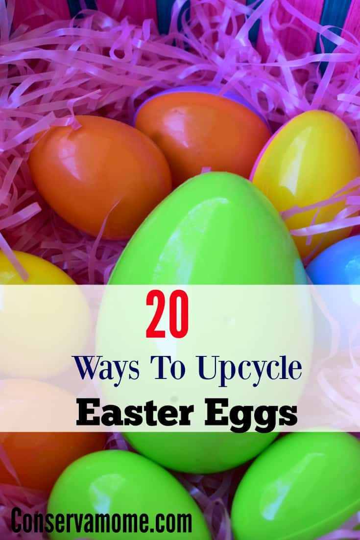 20+ Ways to Upcycle Plastic Easter Eggs