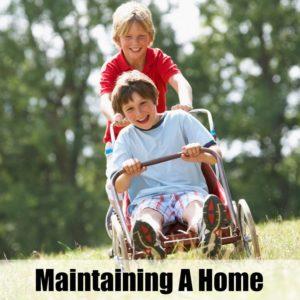Maintaining A Home Where Boys Live