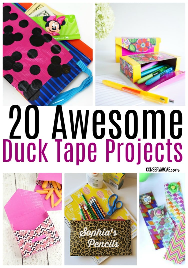 Duck tape projects