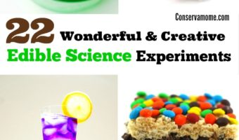 22 Wonderful & Creative Edible Science Experiments