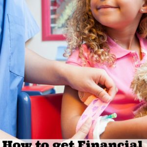 How to Get Financial Peace of Mind  When Your Child Gets Sick + Amazon Gift Card Giveaway