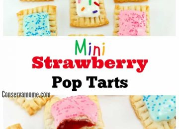 Min strawberry pop tarts