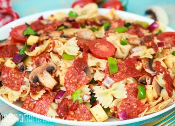 Pizza Pasta Salad recipe: Summer Salad recipe