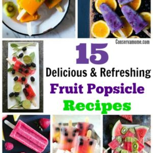 15 Delicious & Refreshing Fruit Popsicle Recipes
