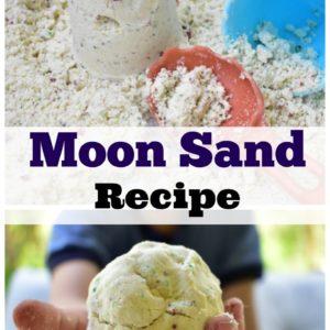 Moon Sand Recipe-Non Toxic